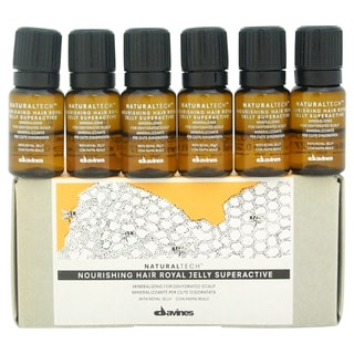 Davines Natural Tech Nourishing Hair Royal Jelly Superactive (Pack of 6)