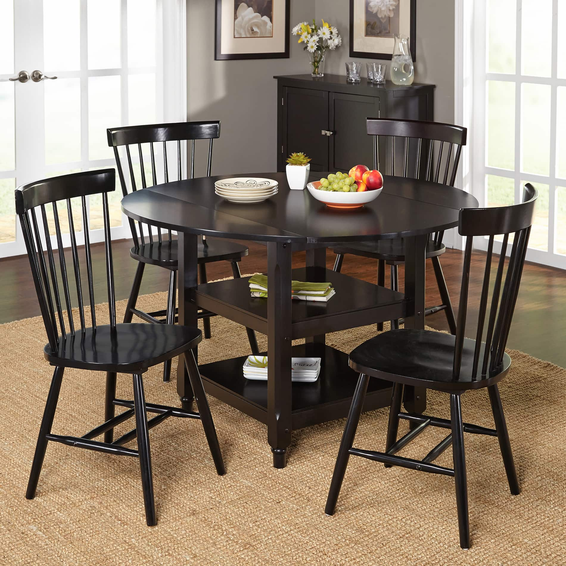Kitchen dining room sets for less for 5 piece living room table set