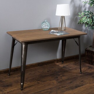 Elmton Foldable Wood Table (ONLY) by Christopher Knight Home - matte mocha