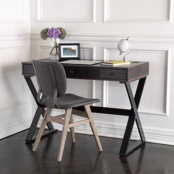Christopher Knight Home Beverly 3 Drawer Wood Writing Desk