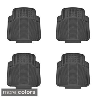BDK Universal Fit/ Trimmable Car Floor Mats (4 Pieces)