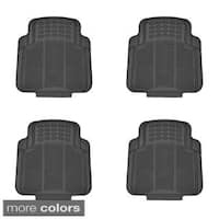 BDK Universal Fit/ Trimmable Car Floor Mats (4 Pieces)