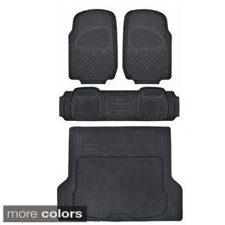 Motor Trend Odorless Heavy Duty Car Floor Mats (4 Pieces)