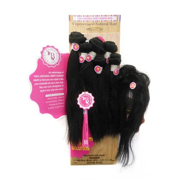 Shop Janet Brazilian Bundle Hair Natural Wave Bombshell 6 Piece Set