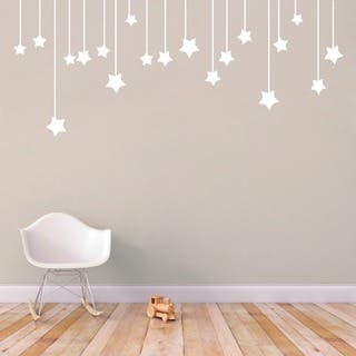 Hanging Stars' 56 x 22.5-inch Large Vinyl Wall Decal|https://ak1.ostkcdn.com/images/products/10050371/P17194718.jpg?impolicy=medium