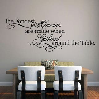 The Fondest Memories' 60 x 22-inch Large Wall Decal|https://ak1.ostkcdn.com/images/products/10050374/P17194721.jpg?impolicy=medium