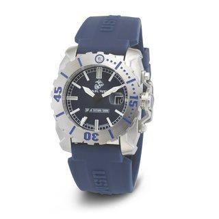 Wrist Armor Men's WA121G U.S. Marine Corps C2 Blue Stainless Steel Watch