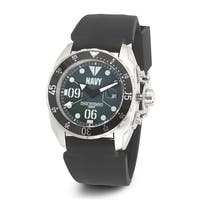 Versil Wrist Armor Men's WA434 U.S. Navy C3 Green Dial Watch