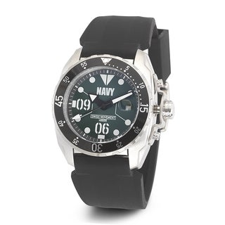 Wrist Armor Men's WA434 U.S. Navy C3 Green Dial Watch