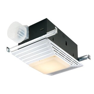 Broan 70 CFM Ceiling Exhaust Fan with Light and Heater