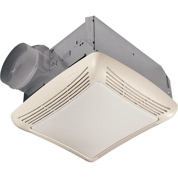 shop broan nutone 70 cfm ceiling exhaust fan with light. Black Bedroom Furniture Sets. Home Design Ideas