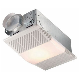 NuTone 70 CFM Ceiling Exhaust Fan with Light and 1300-Watt Heater