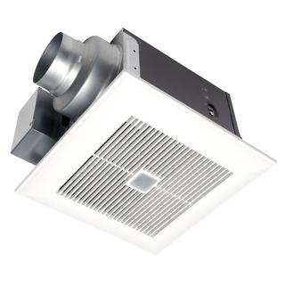 WhisperSense 80 CFM Ceiling Humidity and Motion Sensing Exhaust Bath Fan with Time Delay ENERGY STAR*