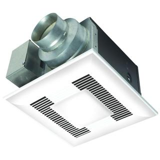 Whisper Sense Light Bathroom Fan 110 CFM
