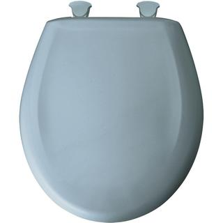 Bemis Whisper Close Round Closed Front Toilet Seat
