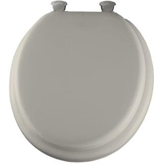 Bemis Lift-Off Soft Round Closed Front Biscuit Toilet Seat