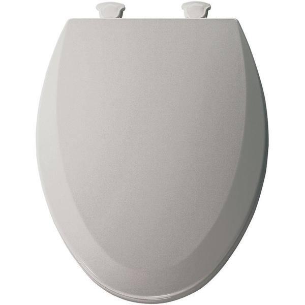 Super Shop Bemis Lift Off Elongated Closed Front Toilet Seat Short Links Chair Design For Home Short Linksinfo