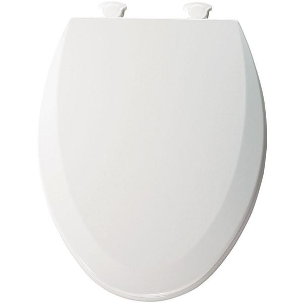 Groovy Shop Bemis Lift Off Elongated Closed Front Toilet Seat Short Links Chair Design For Home Short Linksinfo