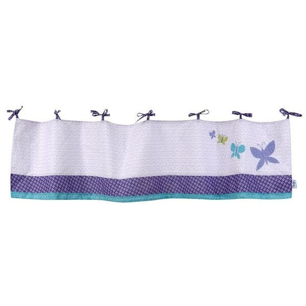 Curtains Ideas butterfly valance curtains : NoJo Beautiful Butterfly Curtain Valance - Free Shipping On Orders ...