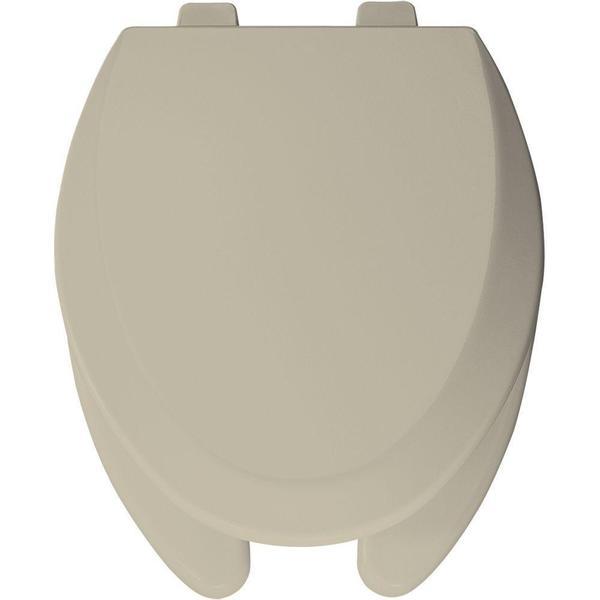 Shop Bemis Elongated Open Front Toilet Seat Free