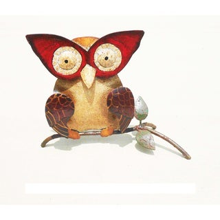 Iron Owl Wall Decor (Indonesia)