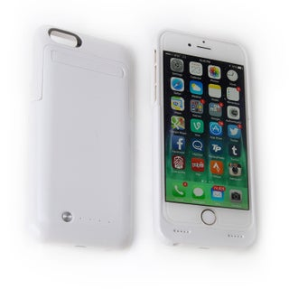 iPhone 6 Rechargeable External Battery Case - 3000mAh (Option: White - iPhone 6)