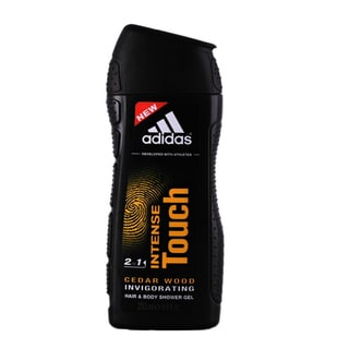Adidas Intense Touch Cedar Wood 2-in-1 Hair and Body Shower Gel for Men
