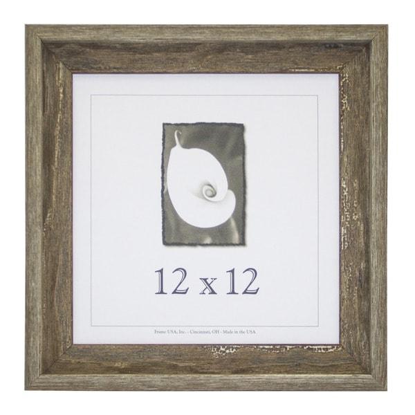 Appalachian Barnwood Picture Frame 12 Inch X 12 Inch