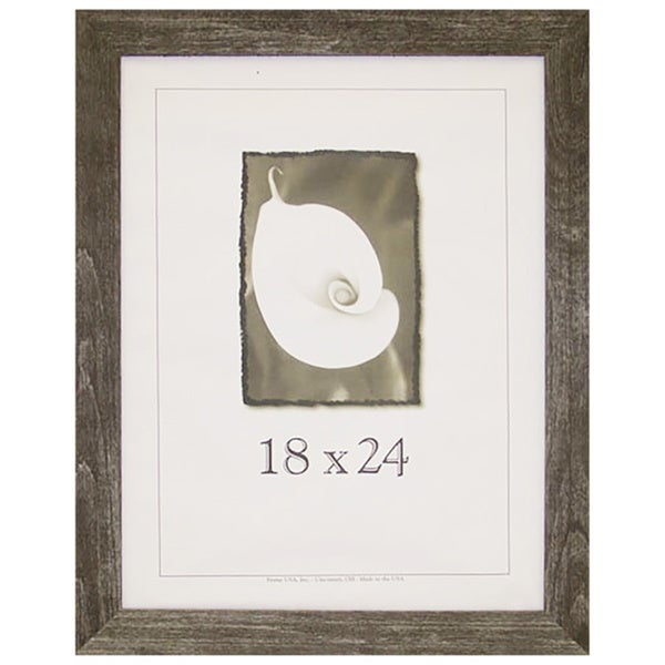 Shop Farmhouse Barnwood Picture Frame (18-inch x 24-inch) - Free ...