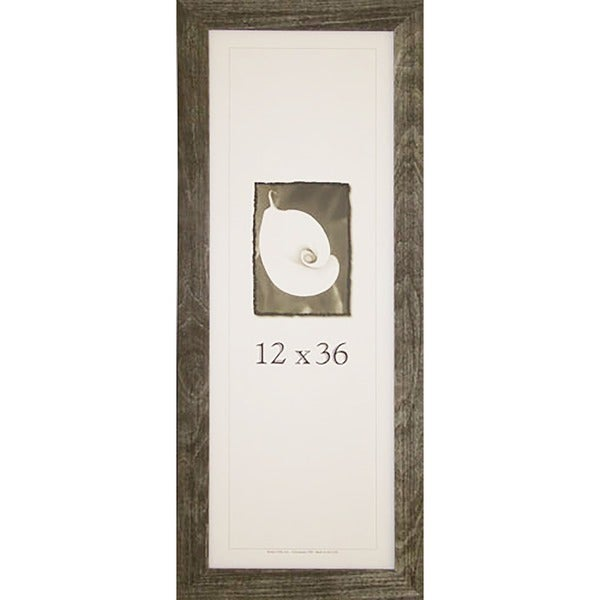 Farmhouse Barnwood Picture Frame (12-inch x 36-inch)