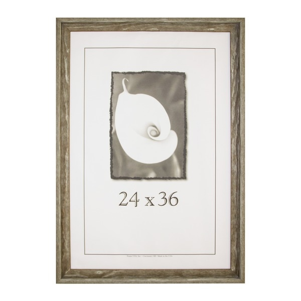 appalachian barnwood picture frame 24 inch x 36 inch free shipping today. Black Bedroom Furniture Sets. Home Design Ideas