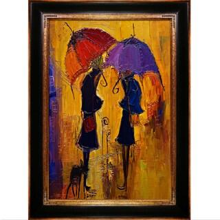 Justyna Kopania Rain Framed Fine Art Print