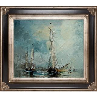 Justyna Kopania Boats Framed Fine Art Print