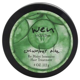 Wen Cucumber Aloe Re Moist Intensive 4-ounce Hair Treatment