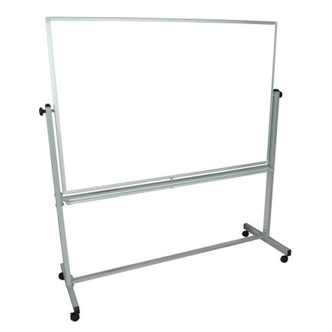 Luxor MB6040WW Reversible Magnetic Mobile Whiteboard