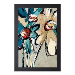 Angela Maritz 'Blooming Blue ll' Framed Art Print