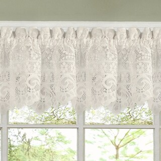 Luxurious Old World Style Lace Kitchen Curtains- Tiers and Valances in Cream|https://ak1.ostkcdn.com/images/products/10050988/P17195248.jpg?_ostk_perf_=percv&impolicy=medium