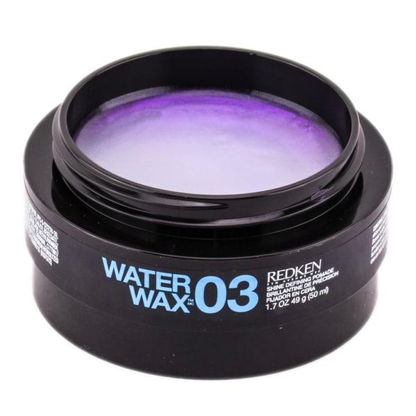 Redken Water Wax 03 Shine Defining 1.7-ounce Pomade
