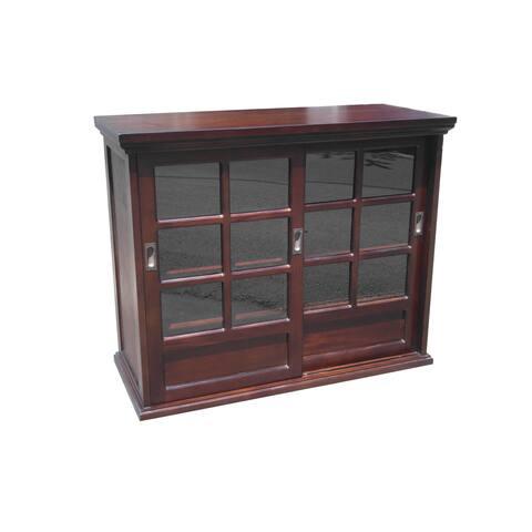 D-Art Collection Solid Mahogany Garret Buffet Cabinet