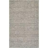 Carrington Dark Grey Wool Area Rug - 7'10 x 10'10