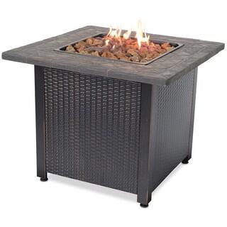 UniFlame Endless Summer LP Gas Outdoor Fireplace