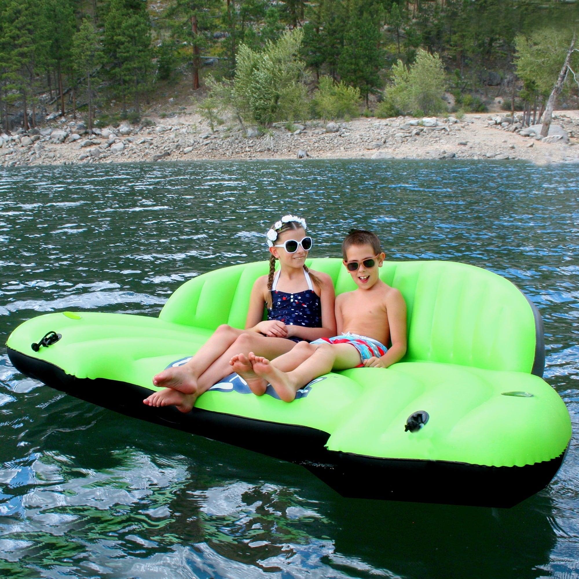 Lay-Z-River Inflatable Sofa (Lay-Z-River Sofa), Blue island