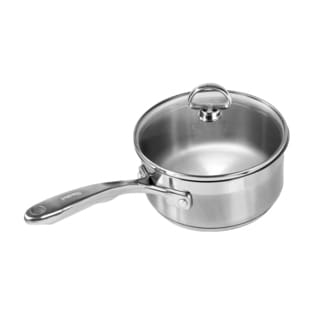 Chantal Steel Induction 1.5-quart Saucepan with Glass Lid