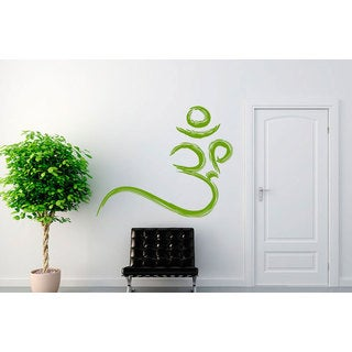 Om Sign Yoga Sticker Vinyl Wall Art