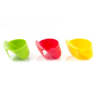 Silicone Chip and Dip Hanger (set of 3)