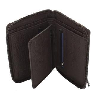 YL Fashion Women's Leather Zip-around Wallet