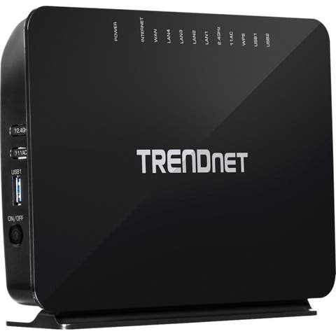 TRENDnet TEW-816DRM IEEE 802.11ac ADSL2+ Modem/Wireless Router
