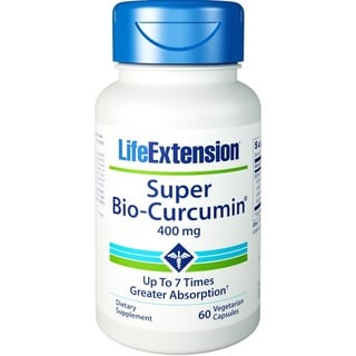 Life Extension Super Bio-Curcumin 400 mg Vegetarian Capsules (60 Count)