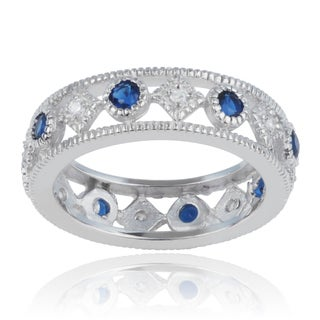 Journee Collection Sterling Silver Cubic Zirconia 6mm Fashion Band