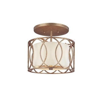 Troy Lighting Sausalito 3-light Semi-flush